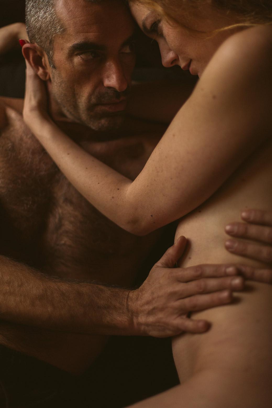 Séance photo intime en couple à Lyon intimité