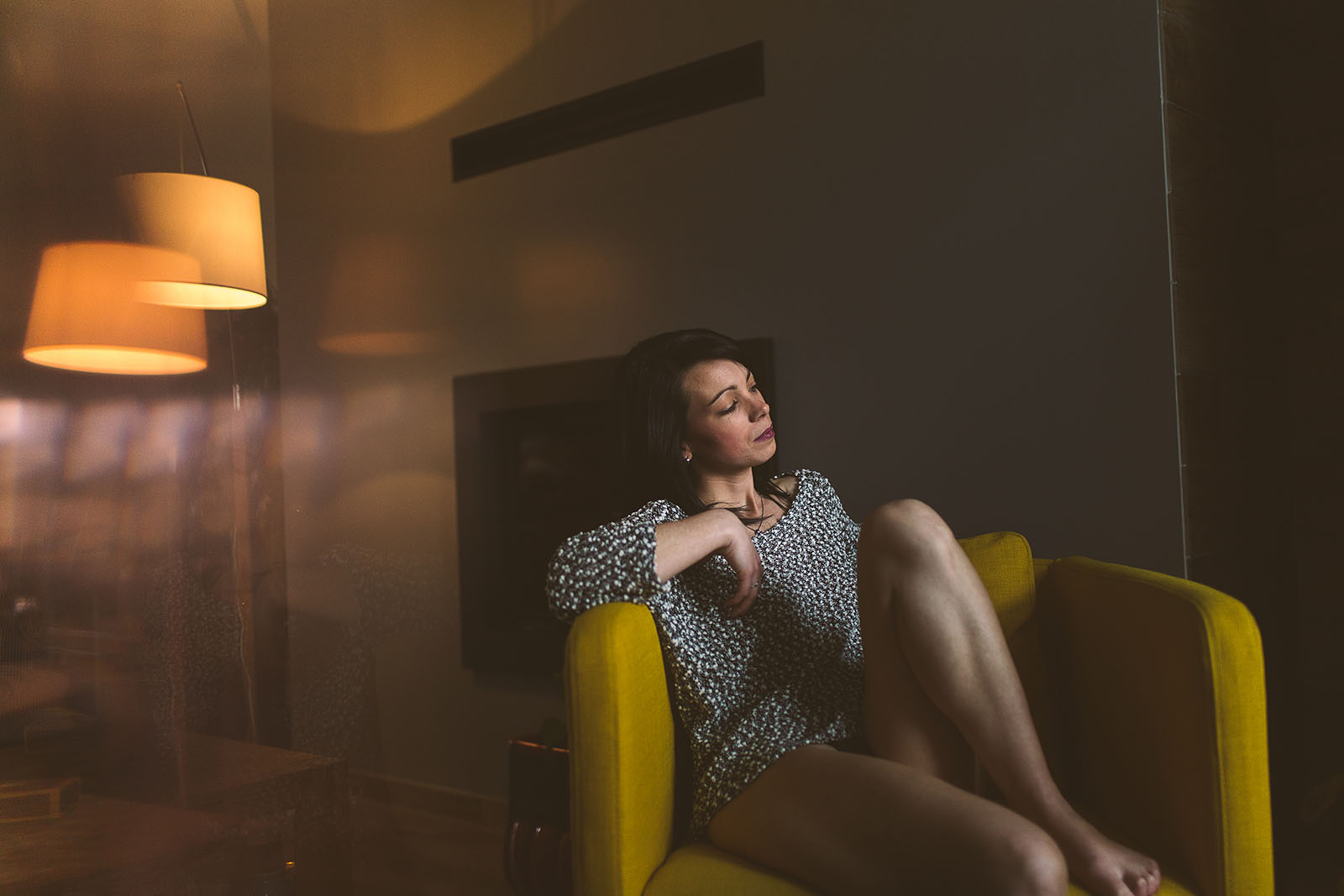 séance photo glamour et musique. Femme seule- Blueberry Corner photographe de photo glamour