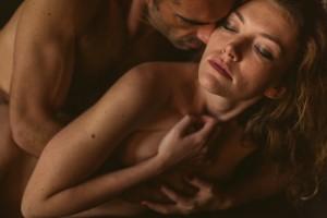 Séance photo intime en couple à Lyon portrait nu