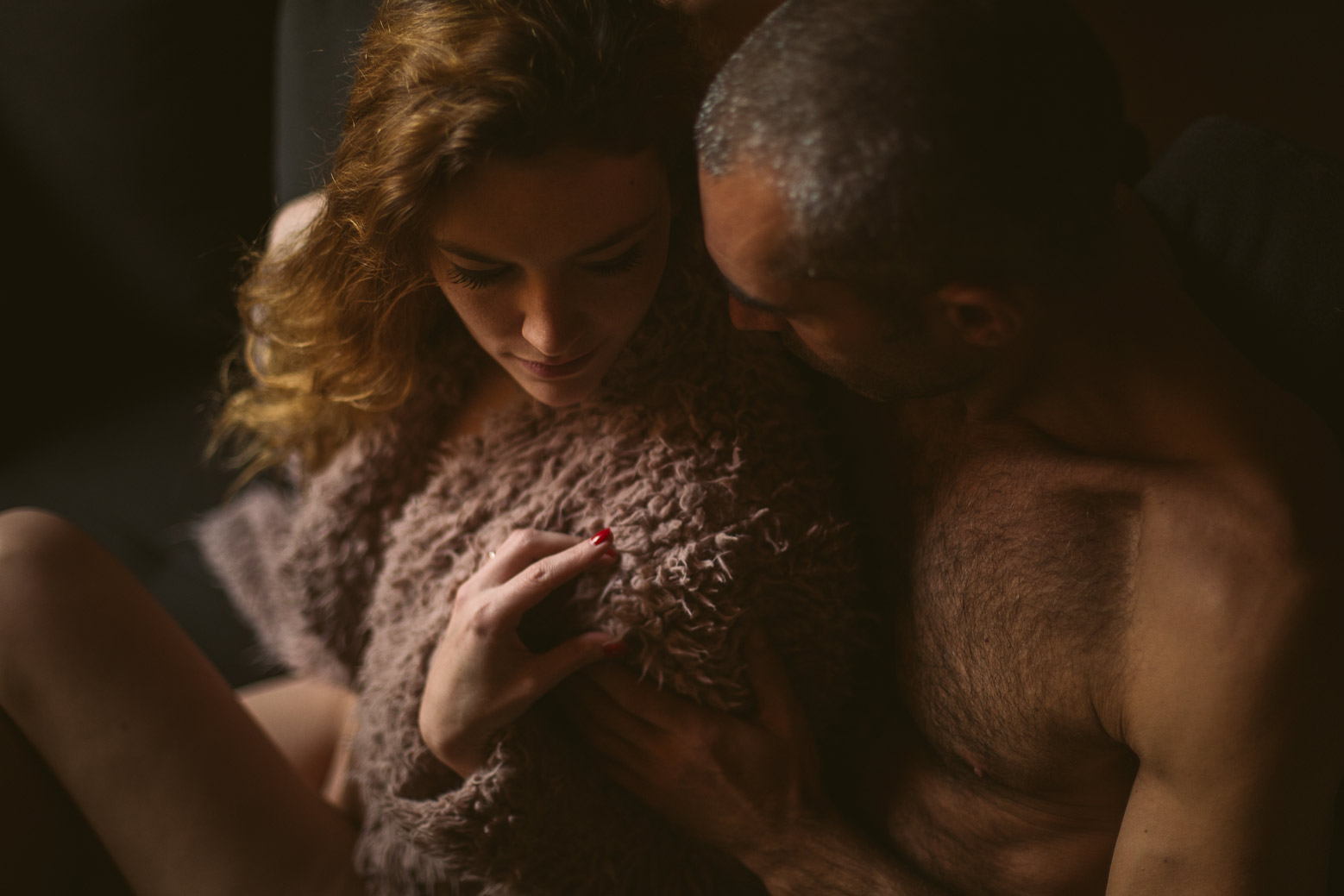 Séance photo intime en couple à Lyon
