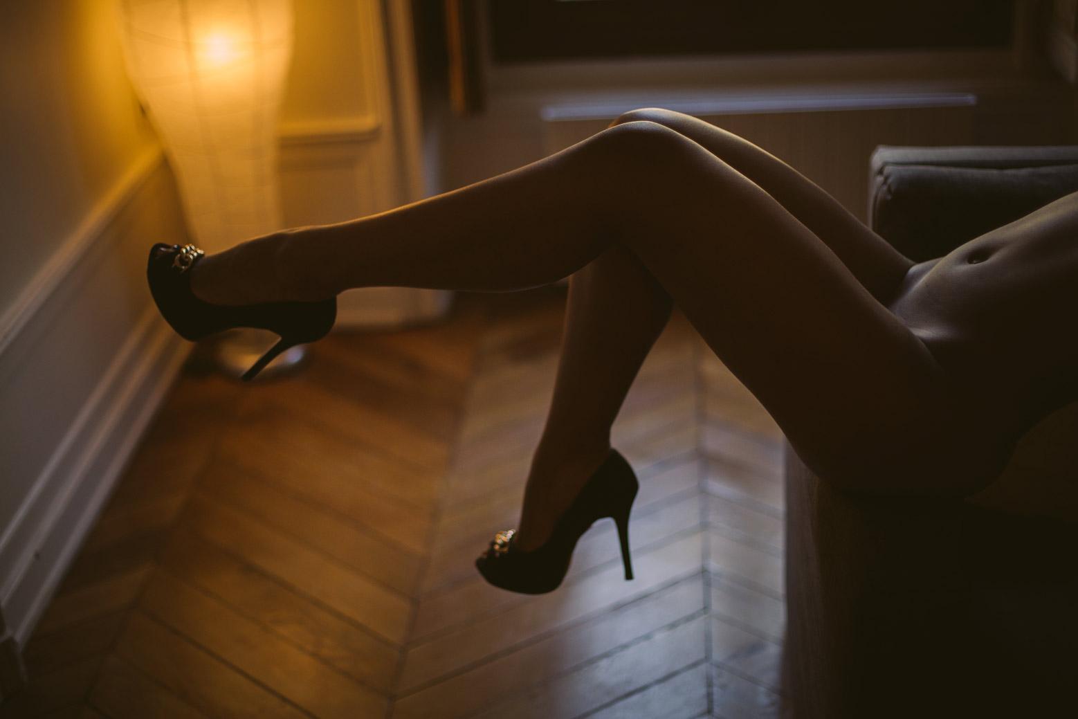 Comment se passe une séance photo boudoir? Blueberry Corner photographe boudoir à Lyon pour couple et femme