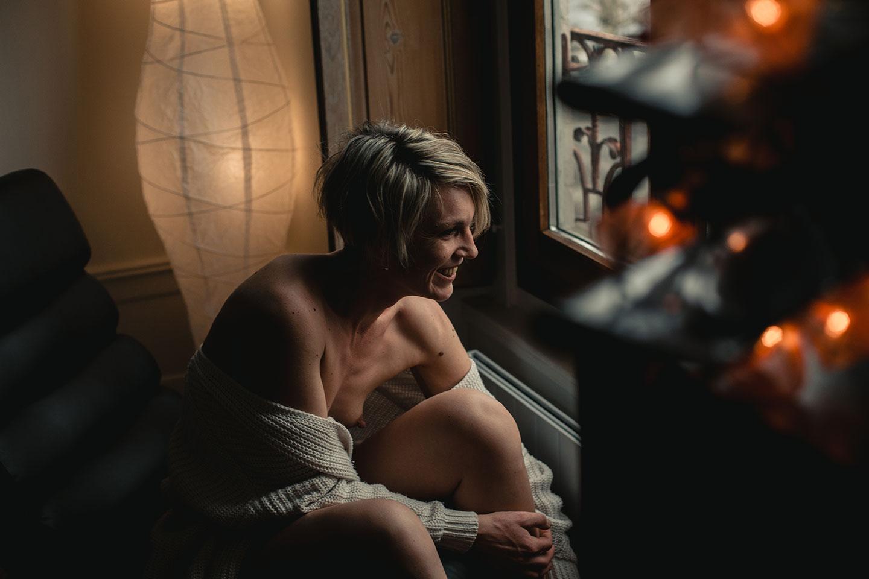 Une séance photo boudoir à Lyon tout en douceur