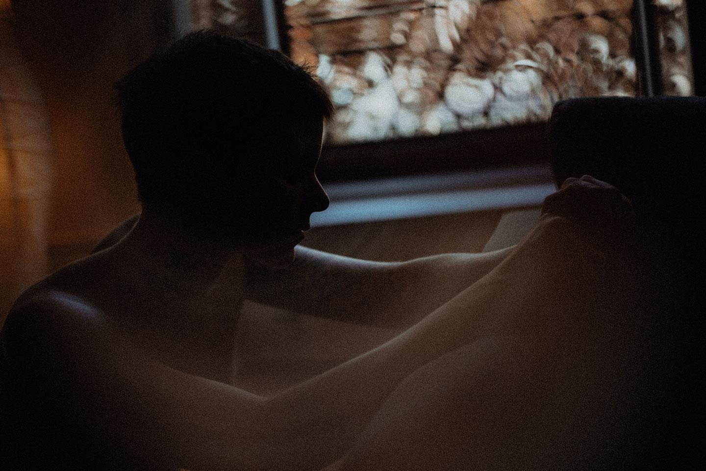 Une séance photo intime douce et sensuelle