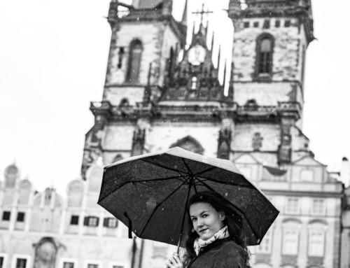 Séance photo boudoir à Prague